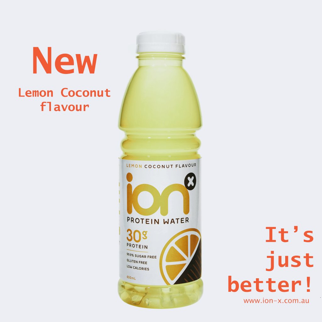 Ion-X Water Based Protein Drinks