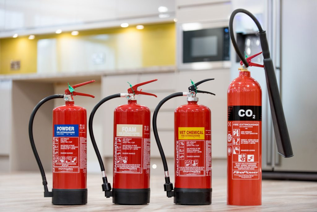 fire extinguishers' function and certification - FireLab